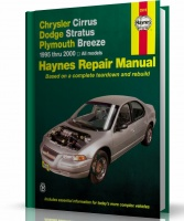 INSTRUKCJA CHRYSLER CIRRUS, DODGE STRATUS, PLYMOUTH BREEZE (1995-2000)